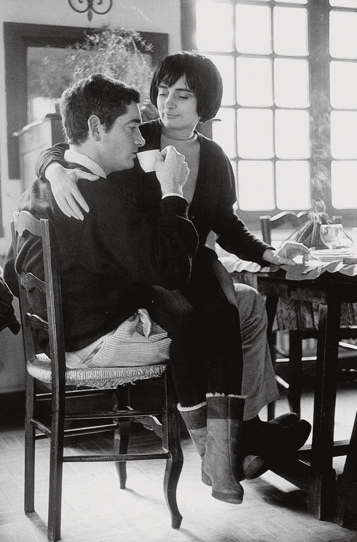 Jacques Demy and Agnès Varda