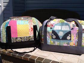 Sew Sweetness: Aeroplane Bags
