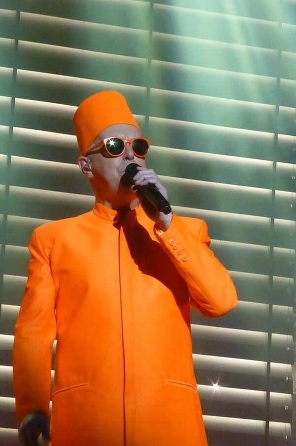 Neil Tennant - Pet Shop Boys.  Fox Theatre Oakland.  Tara Lyn