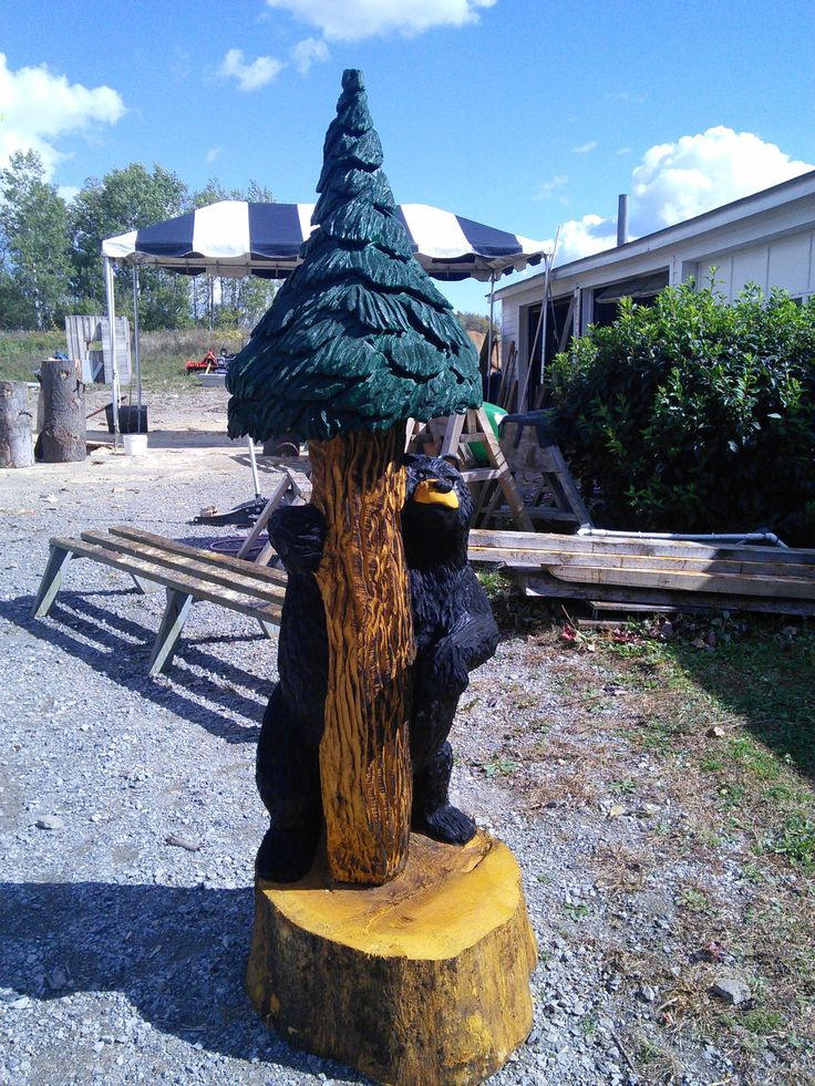 Images about chainsaw carvings on pinterest wood