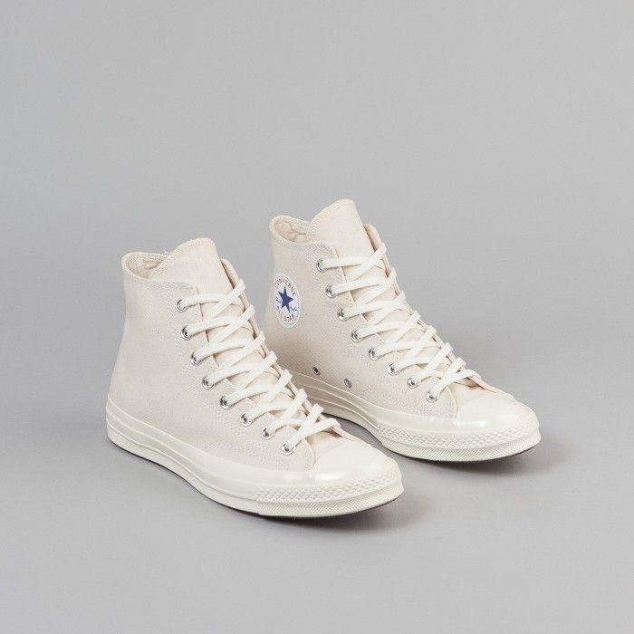 Converse CTAS 70 s Hi Shoes - Natural   Clematis Blue   Egret ... f1c9ac5bf
