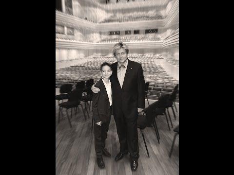 CHACONNE OF BACH - XAVER VARNUS (ORGAN) & 11 YEAR OLD PIANO PRODIGY MISI BOROS - YouTube