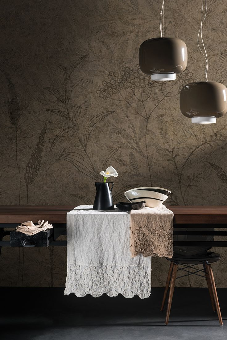 Fields Forever | Wallcovering by Barbara Varini | Inciostro Bianco