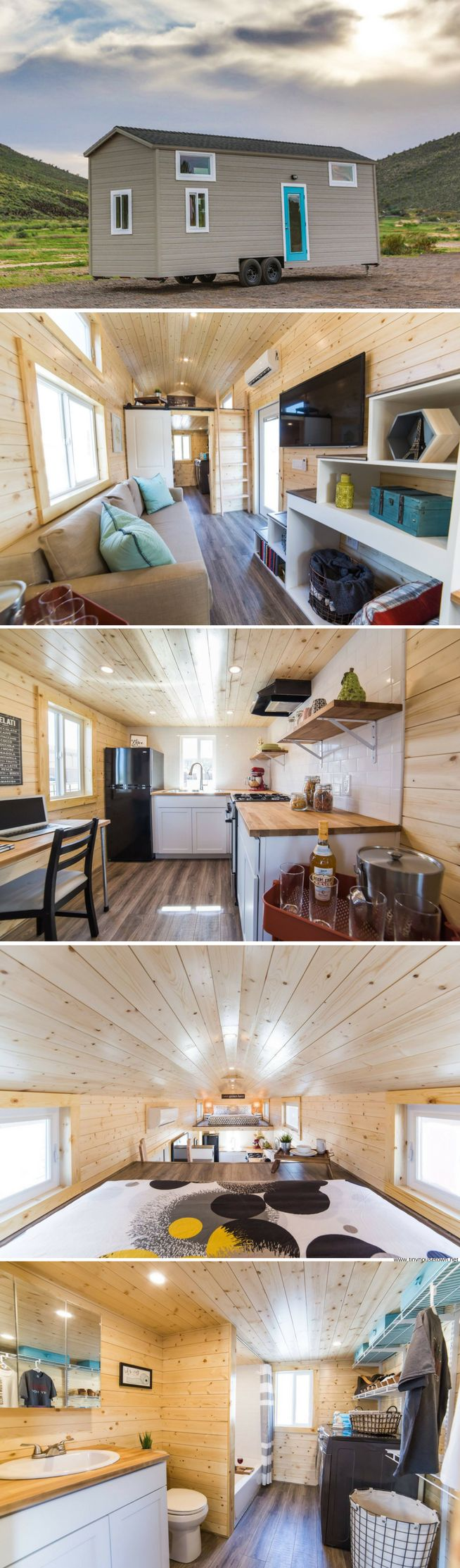 The Mansion Elite tiny house (350 sq ft)