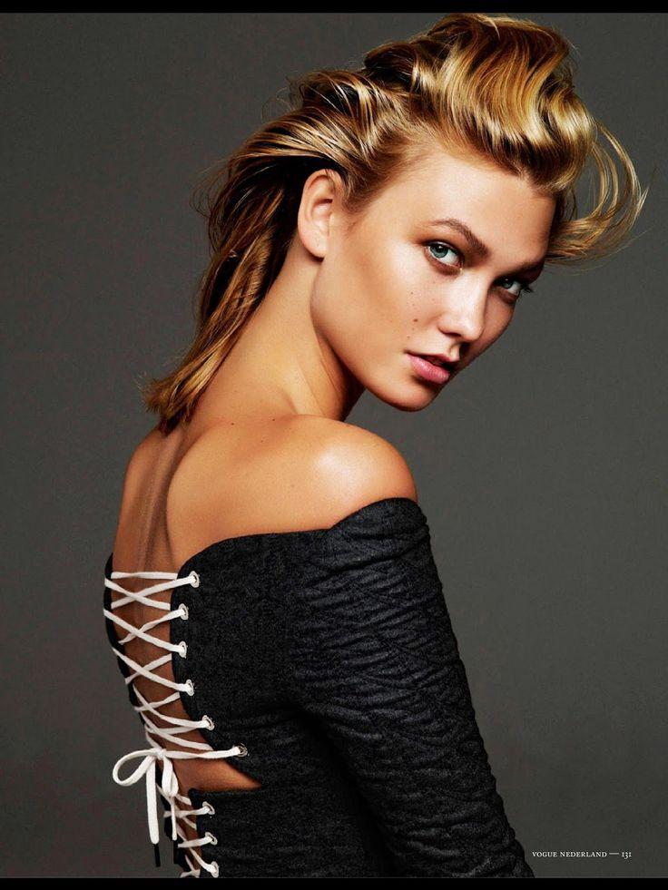Karlie Kloss by Alique for Vogue NE Oct 2014