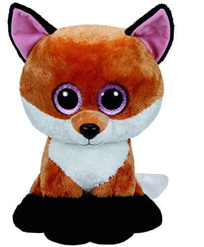 Ty Beanie Boos Slick - Fox Large (Justice Exclusive)