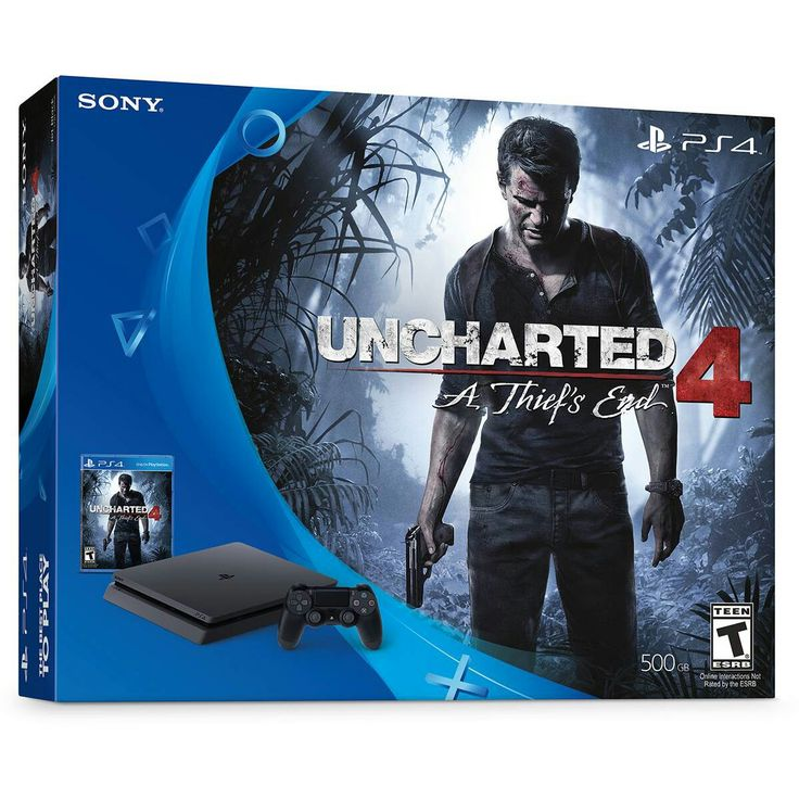 Uncharted 4 A Thief's End PS4 Slim Bundle (Download).