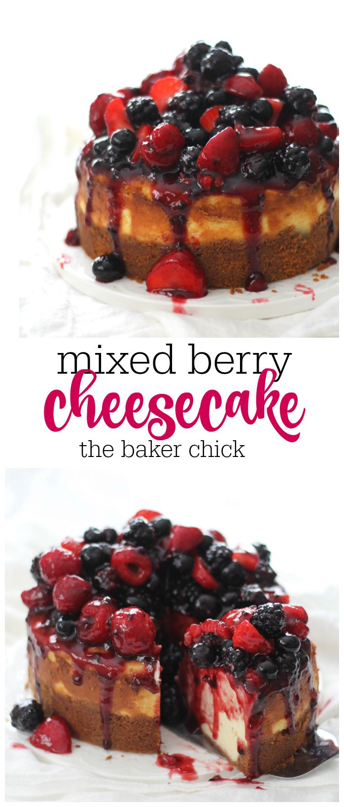 Oh this cheesecake you guys. I have made some delicious cheesecakes before but…