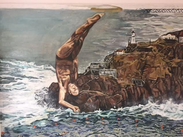 High Diver – 14 Bells Fine Art Gallery