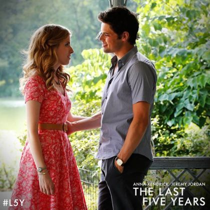 Anna Kendrick & Jeremy Jordan in The Last Five Years. Love their voices.