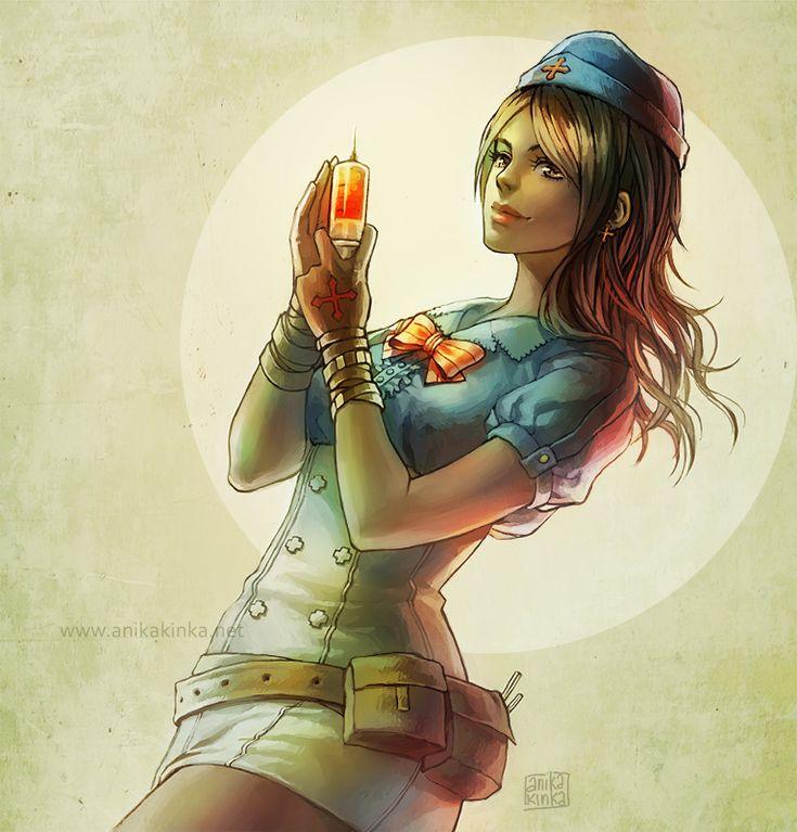 Nurse Lana by anikakinka on DeviantArt