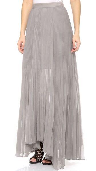 alice + olivia Ava High Waisted Skirt