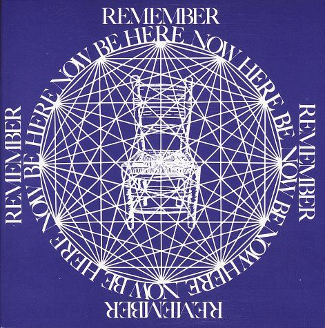 """Ram Dass' classic """"Be Here Now,"""" one of the most amazing and inspiring books I've ever read. Mind = Blown."""