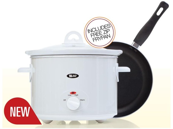 Zip 5 Litre White Slow Cooker  $39.99  *Prices subject to change