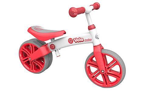"image of Y Velo Junior Balance Bike Red - 9"""