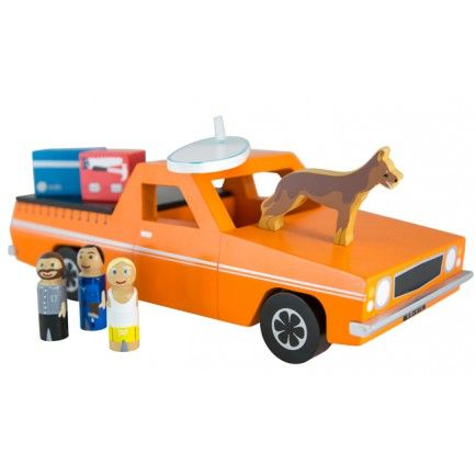 Iconic Wooden Toy Ute