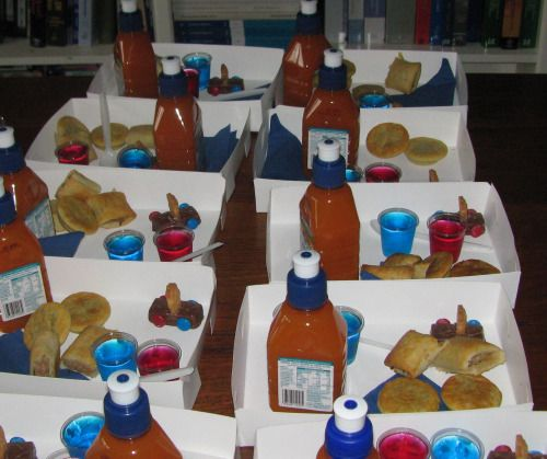 Children's Party Food - Snack Boxes - they will eat more and there will be less waste