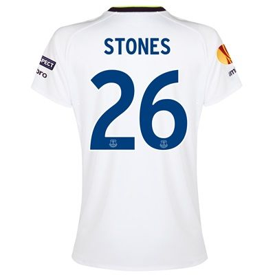 Everton UEFA Europa League 3rd Shirt 2014/15 - Womens with Stones 26 p: with Stones 26 printing #EvertonStore #EvertonShop #EvertonFC