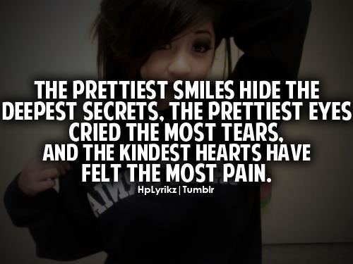 The Prettiest Smiles Hide The Deepest Secrets, The