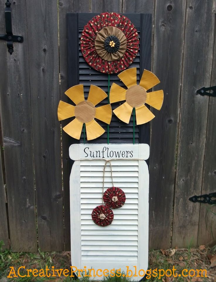 Upcycle shutters