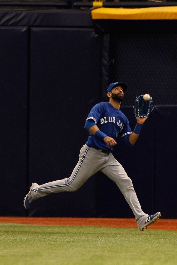 Jose Bautista, TOR //last day of the regular season for the Blue Jays, Oct 2015 at TB