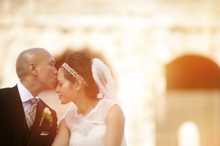 Photography: David Bastianoni - davidbastianoni.com Read More: http://www.stylemepretty.com/destination-weddings/2014/11/28/romantic-roman-wedding-at-st-peters-basilica/
