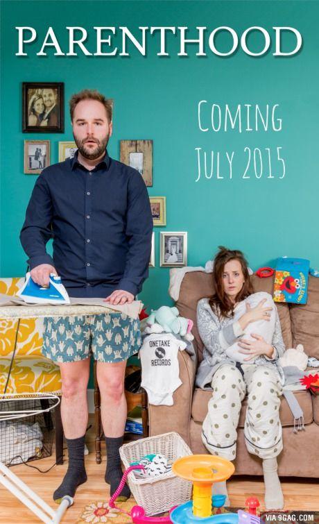 First pregnancy announcement.