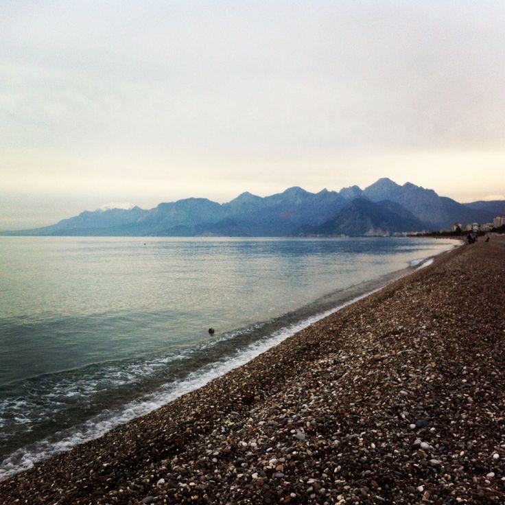 Konyaaltı Beach, Antalya Turkey