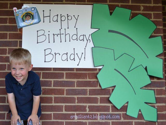 Erin's 2 Cents: Go Diego Go! Birthday Party