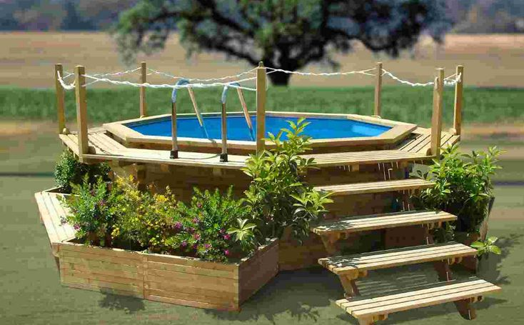 120 Best Images About Above The Ground Pool On Pinterest Above Ground Pool Landscaping