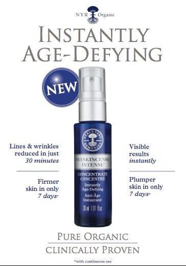 Frankincense Concentrate from Neals Yard Remedies. #frankincense #nyr #organicskincare