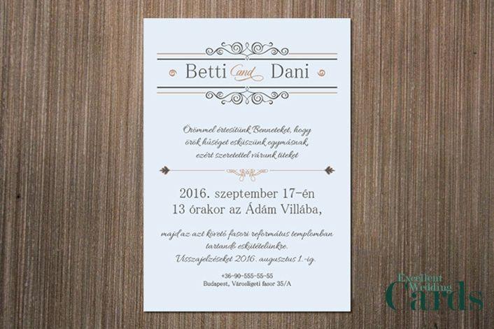 esküvői idézetek nászajándékra Lovely wedding esküvői meghívó   Elegáns kollekció     esküvői