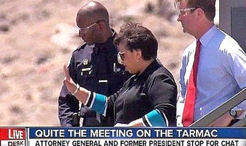Loretta Lynch SUED for details over secret tarmac meeting with Bill Clinton