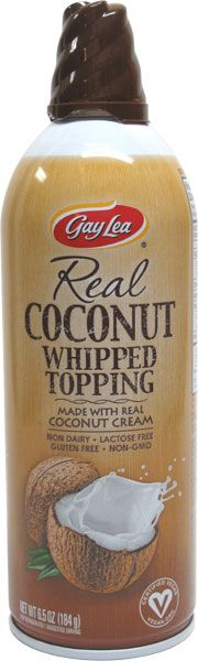 Real Coconut Whipped Topping by Gay Lea