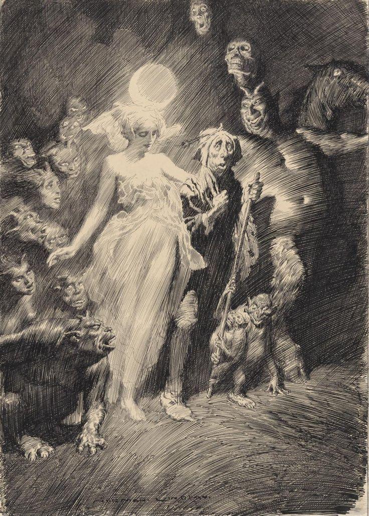 Norman Lindsay - Tom O'Bedlam, 1918