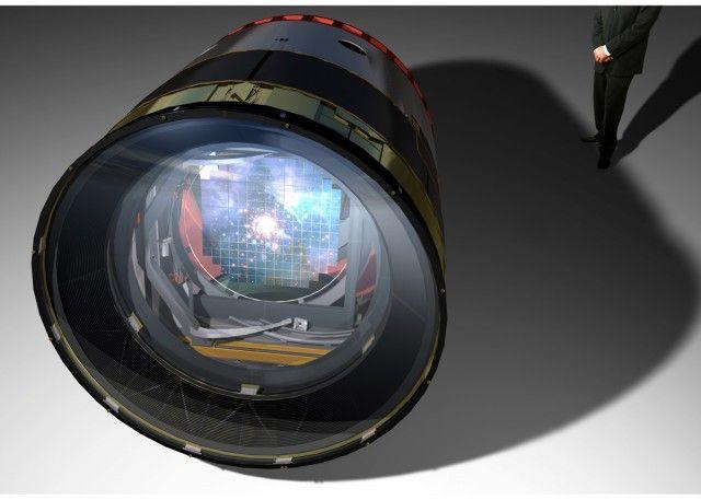 3 ton, 3.2 GigaPixel camera.
