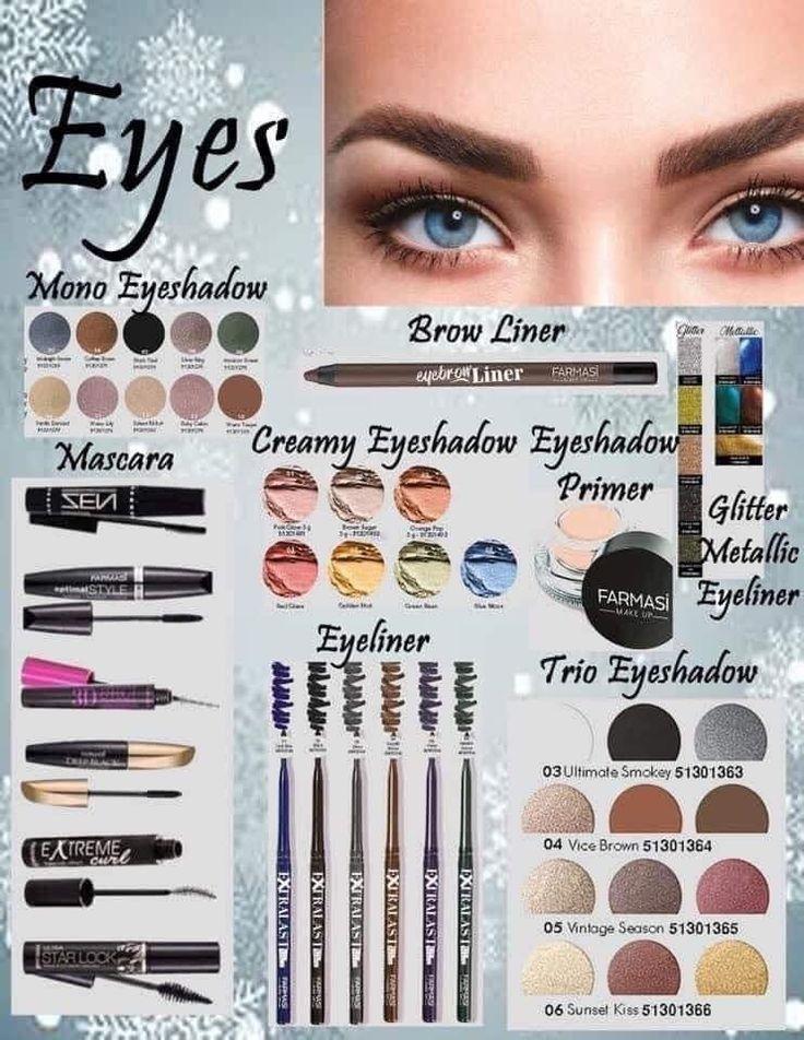 Farmasi in 2020 Eyeshadow, Makeup lover, Cosmetics usa