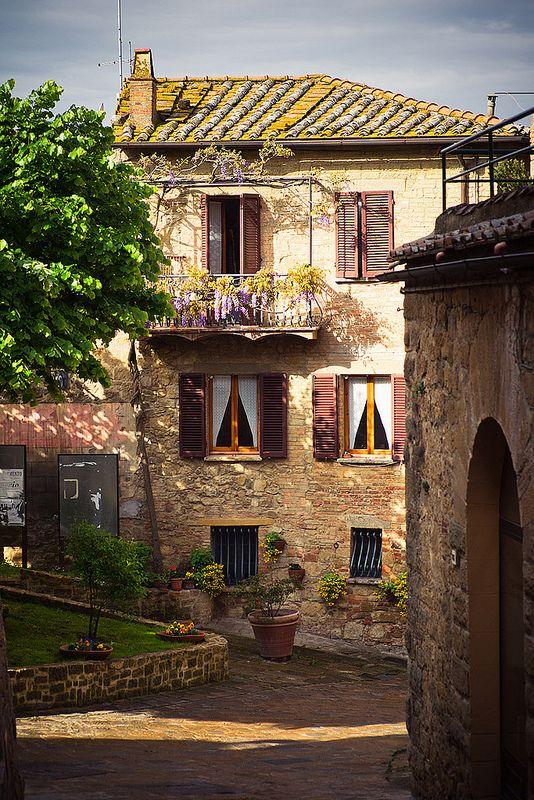 Italian Spring - Monticchiello, Tuscany, Italy