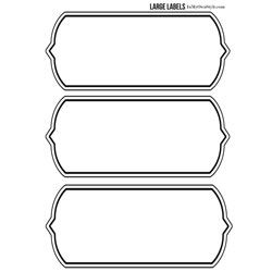 Lots Of Free, Printable Labels Here. Diff Sizes And Shapes   Free Printable Large  Labels  Large Label Template