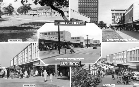 History of Basildon and its inhabitants.