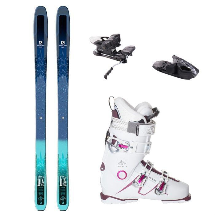 Salomon QST Lux 92 Women's Complete Package SkisBoots