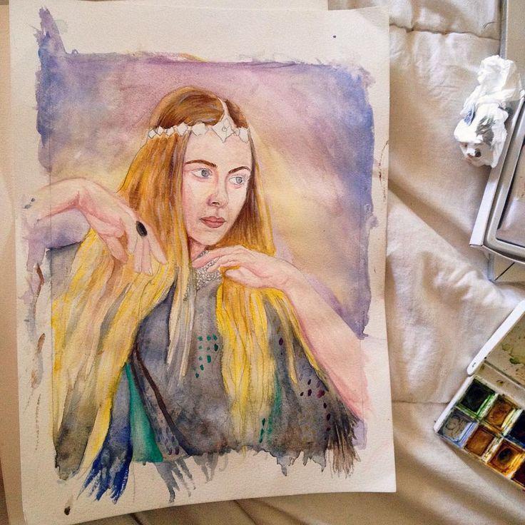 The beginning of something new. #workinprogress #wip #watercolor #windsorandnewton #alluramaison #artist #art #fashionillustration #boho #bohemian