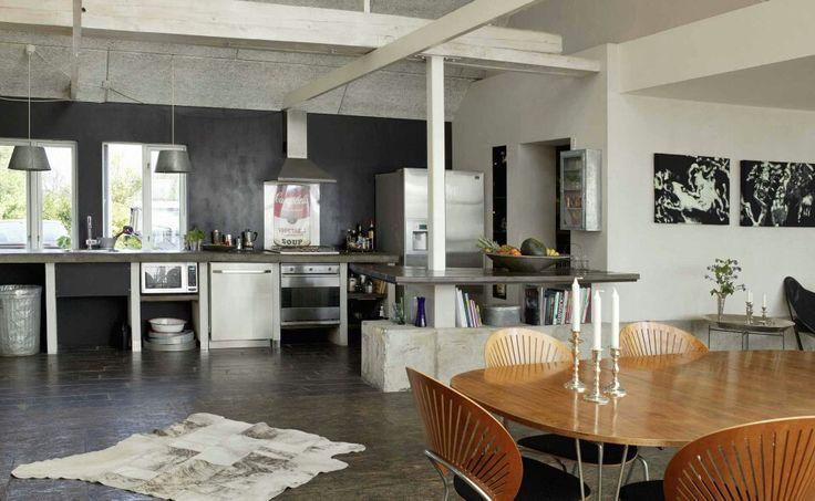 Drivhus, stue/køkken