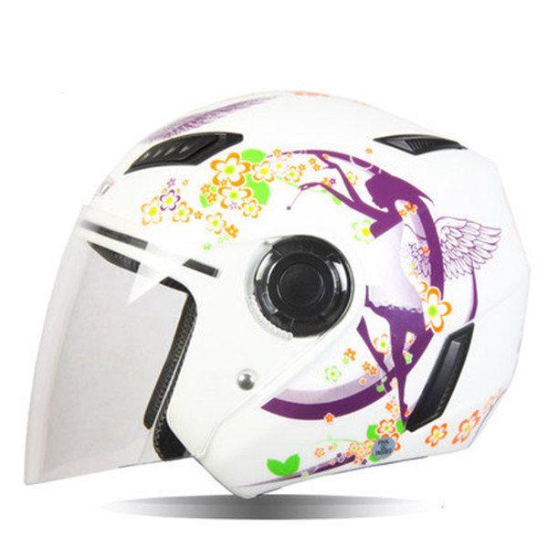 Motorcycle Semi-Packed Helmet Four Seasons Lightweight Helmets For NENKI