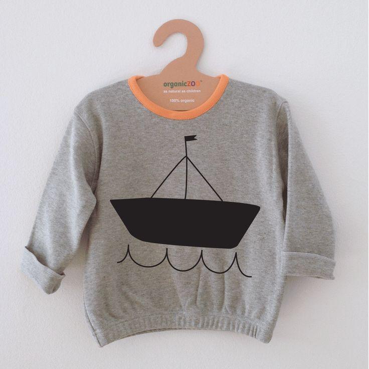 Organic Zoo ◊ Sailboat Sweater www.cowboybilly.nl