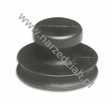 Bohle Uchwyt, przyssawka do szyb pojedyńcza cała z gumy 50 mm 609.55