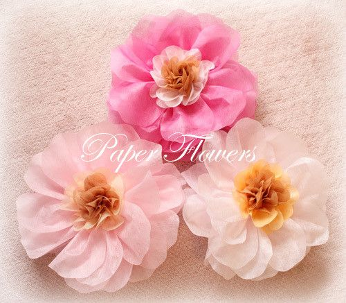 17 Best Images About Merry Thriftmas On Pinterest: 17 Best Images About Á�花紙フラワー・不織布フラワー/Tissue Paper Flowers