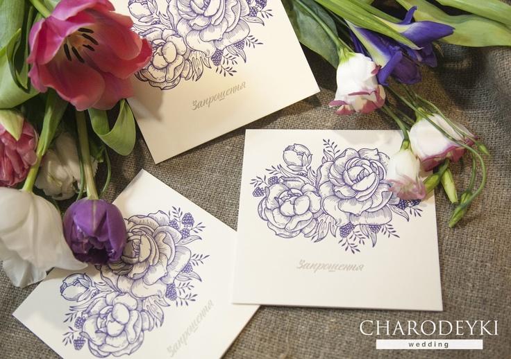 """Коллекции свадебных пригласительных 2013 года от нашей имидж студии """"Charodeyki""""  Invitations made by www.charodeyki.com, collections 2013"""