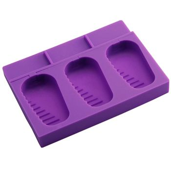 Silicone Ice Cube Tray Jelly Ice Tray Mold Funny Party Maker, Purple
