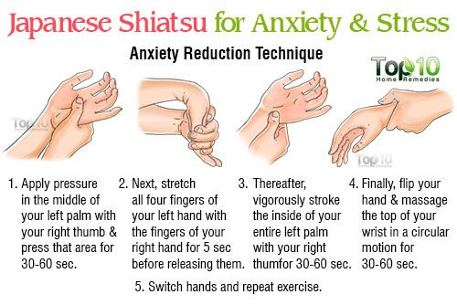 Shiatsu for Anxiety